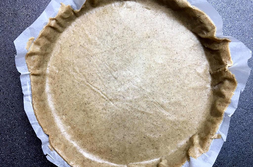 Pâte à tarte au sarrasin et huile d'olive