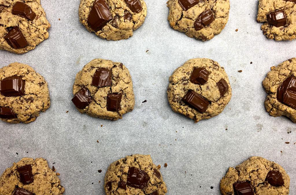 Cookies sans gluten choco-coco