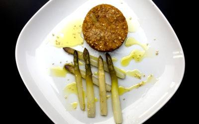 Steak végétal au sarrasin quinoa et basilic